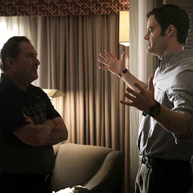 Bill Hader and Stephen Root in Barry (2018)