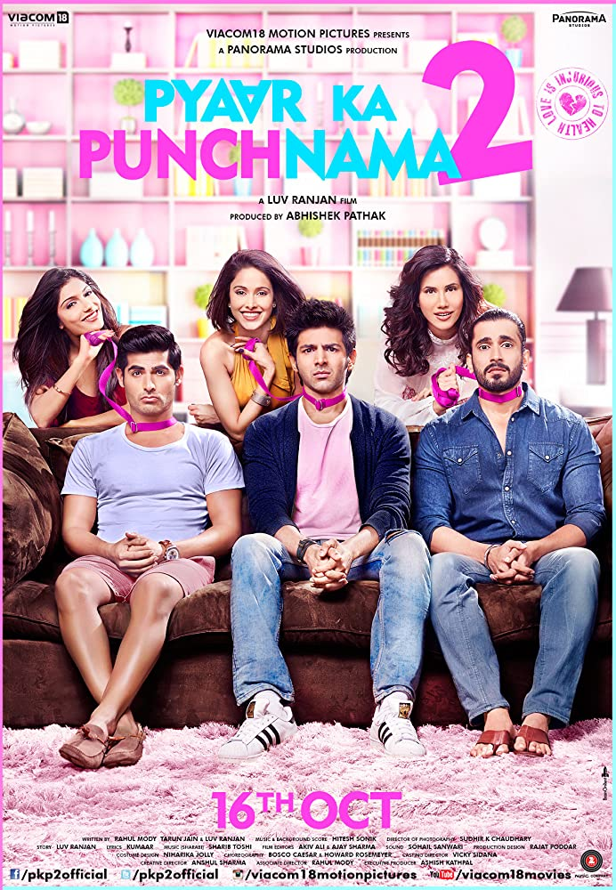 Pyaar Ka Punchnama 2 2015 Hindi 720p HDRip Watch Online Free Download