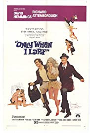 Only When I Larf Poster