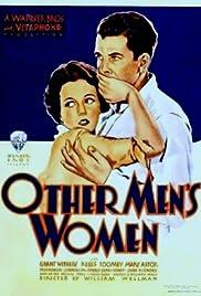 Other Men's Women(1931) Poster - Movie Forum, Cast, Reviews