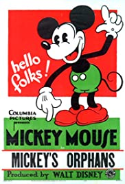 Mickey's Orphans Poster