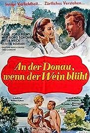 An der Donau, wenn der Wein blüht Poster