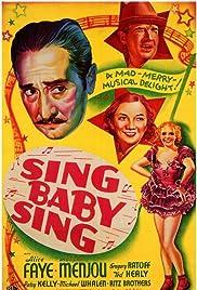 Sing, Baby, Sing Poster