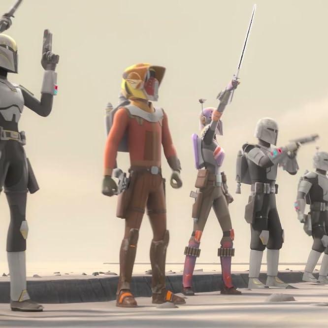 Tiya Sircar and Taylor Gray in Star Wars: Rebels (2014)