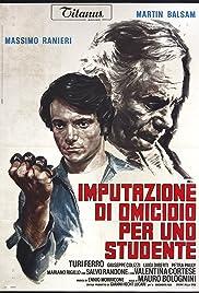 Imputazione di omicidio per uno studente Poster