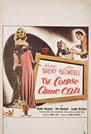 The Corpse Came C.O.D. Poster