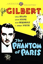The Phantom of Paris Poster