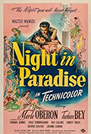 Night in Paradise(1946) Poster - Movie Forum, Cast, Reviews