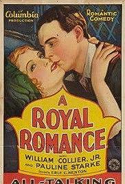 A Royal Romance Poster