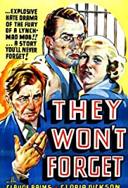 They Won't Forget Poster