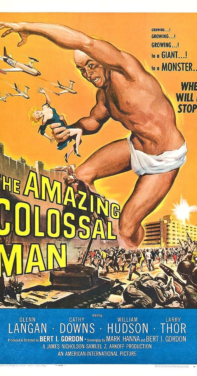The Amazing Colossal Man (1957) - The Amazing Colossal Man (1957) - User  Reviews - IMDb