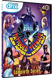 Tattooed Teenage Alien Fighters from Beverly Hills Poster