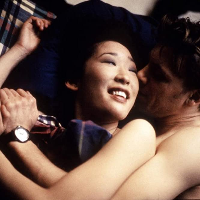 Sandra Oh and Callum Keith Rennie in Double Happiness (1994)