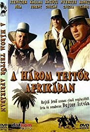 A három testör Afrikában Poster