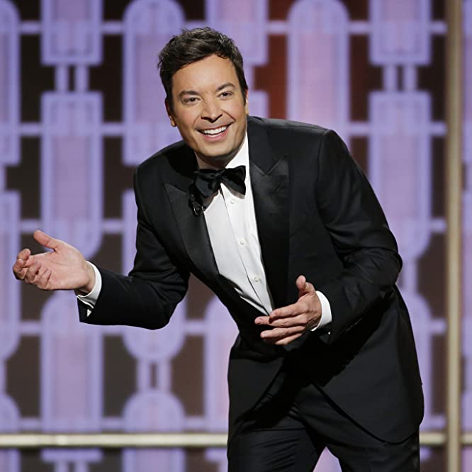 Jimmy Fallon at an event for The 74th Golden Globe Awards (2017)