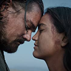 Leonardo DiCaprio and Grace Dove in The Revenant (2015)