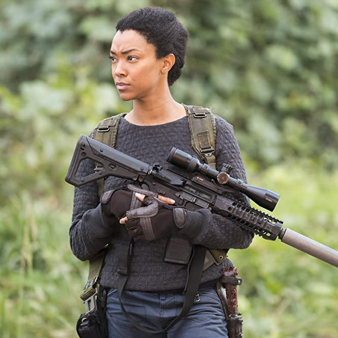 Sonequa Martin-Green in The Walking Dead (2010)
