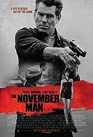 The November Man Poster