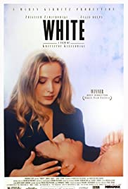 Three Colors: White Poster