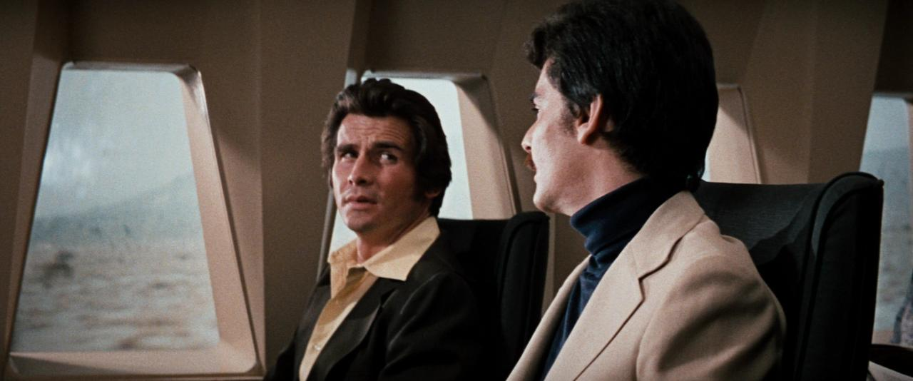 Richard Benjamin and James Brolin in Westworld (1973)
