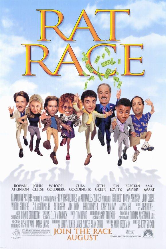 Tabana Kuvvet – Rat Race | 2001 | DVDRip Türkçe Dublaj
