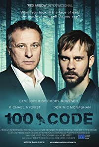 Dominic Monaghan and Michael Nyqvist in The Hundred Code (2015)