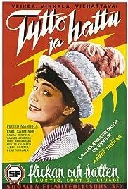 Tyttö ja hattu Poster