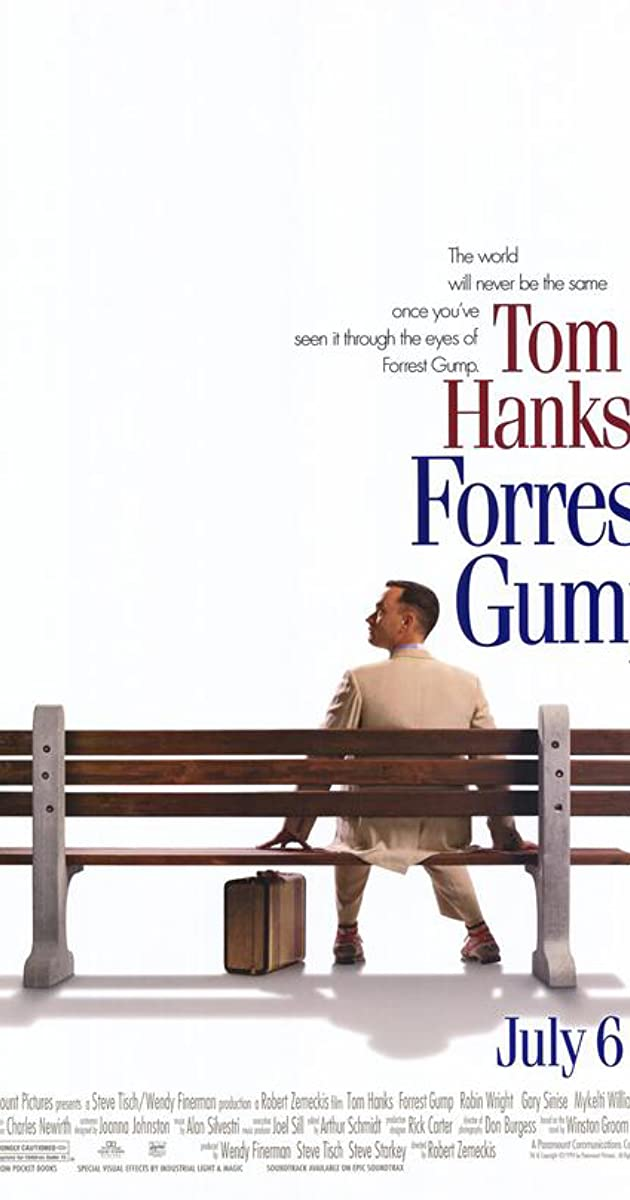 forrest gump film techniques Forrest gump film analysis part 1: the scene, and how forrest came to be there • camera techniques • sound.