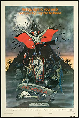 Blood for Dracula poster