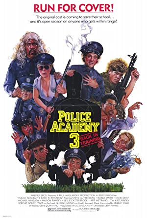 Police Academy 3: Back in Training poster