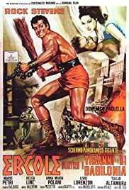 Hercules and the Tyrants of Babylon (1964) Poster - Movie Forum, Cast, Reviews