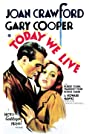 Today We Live (1933) Poster