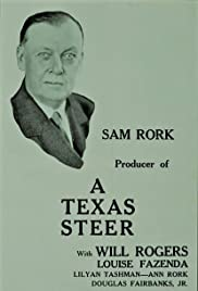 A Texas Steer Poster