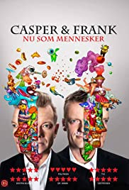 Casper & Frank - Nu som mennesker Poster