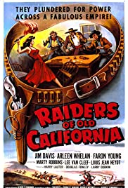 Raiders of Old California Poster