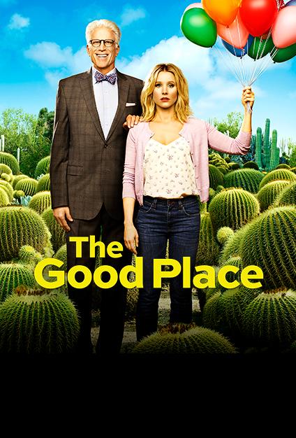 Bildergebnis für the good place season 2 plakat