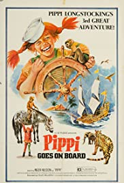 Pippi Goes on Board Poster