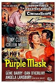 The Purple Mask(1955) Poster - Movie Forum, Cast, Reviews