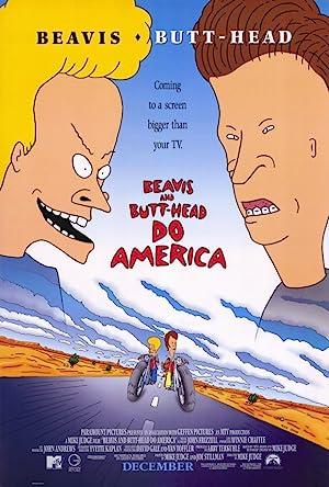 Beavis and Butt-Head Do America poster