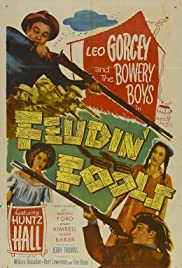 Feudin' Fools(1952) Poster - Movie Forum, Cast, Reviews
