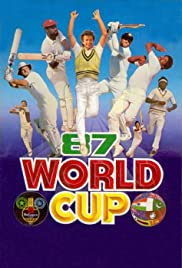 Reliance World Cup Cricket 1987 Poster