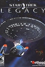 Star Trek: Legacy Poster