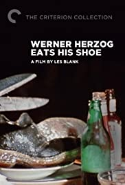 Werner Herzog Eats His Shoe Poster