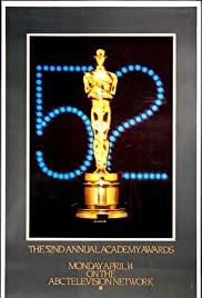 The 52nd Annual Academy Awards Poster