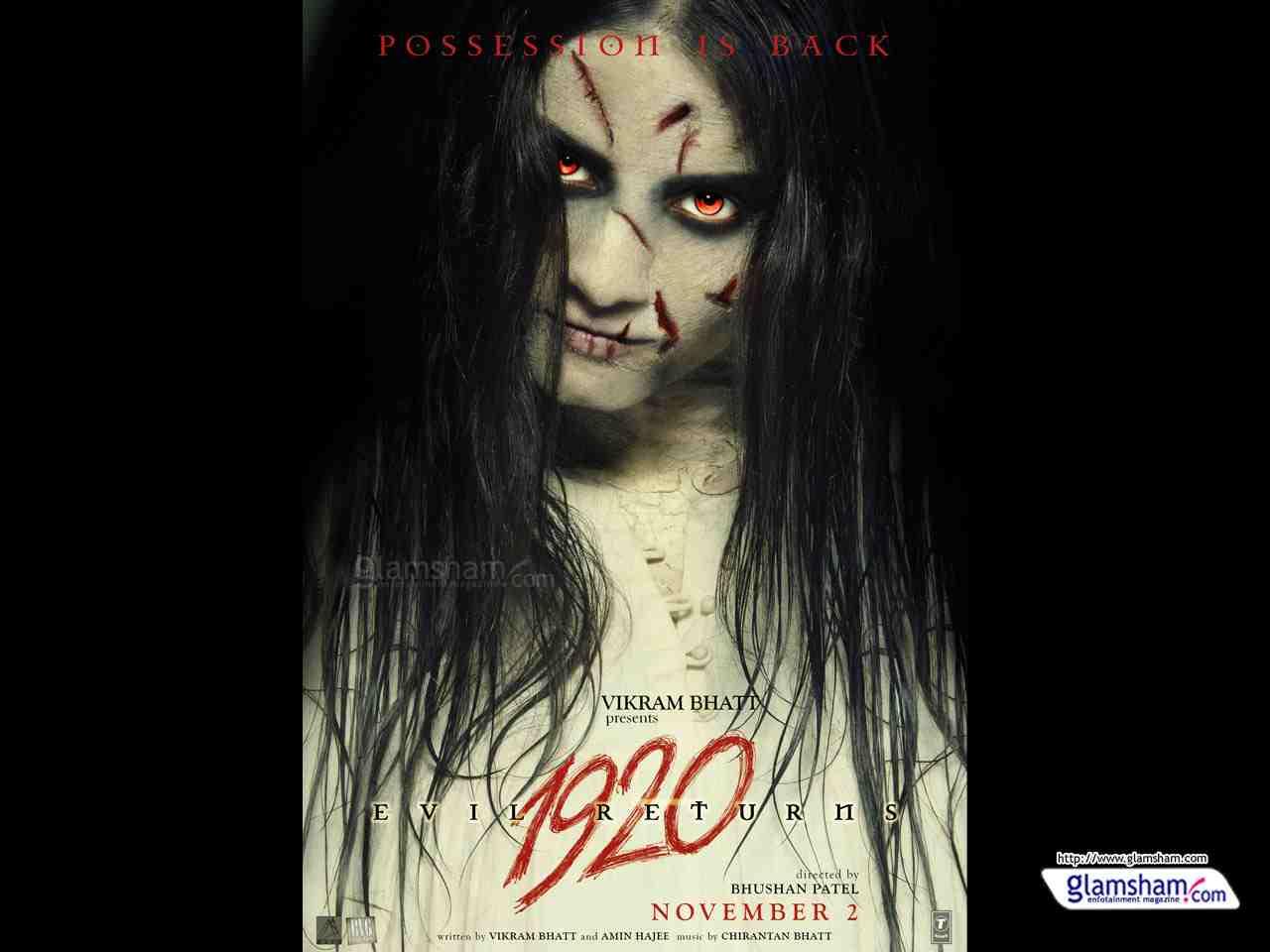 1920 Evil Returns Movie Poster