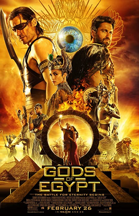 Gods of Egypt 2016 English 720p BRRip 900MB Download Watch Online at www.movies365.in
