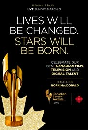 2016 Canadian Screen Awards Poster