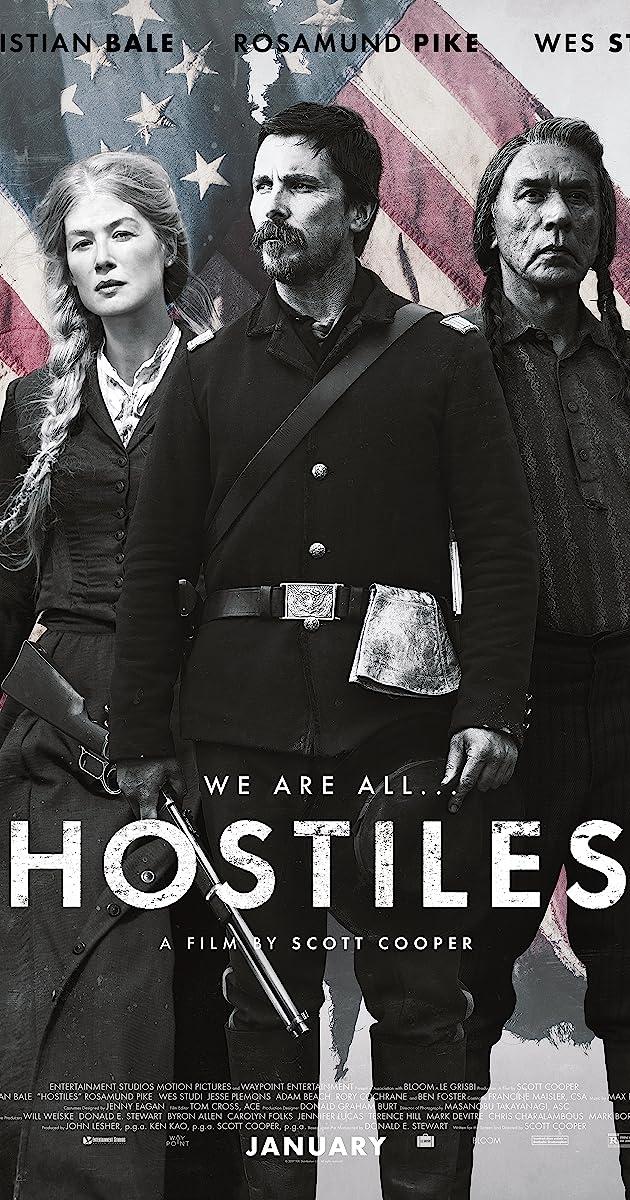 Priešai / Hostiles (2017)
