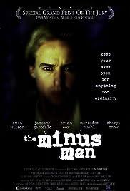 The Minus Man Poster