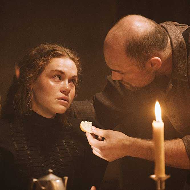 Holland Roden and Cathal Pendred in Lore (2017)